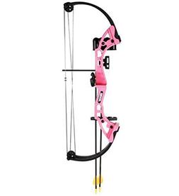 Compound Bow Brave 3 Girls Pink Whisker Biscuit Youth Set AY