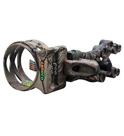Truglo Carbon Xs Extreme 5 Pin .019 Sight Xtra With Light