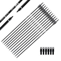 Tiger Archery 30Inch Carbon Arrow Practice Hunting Arrows Wi
