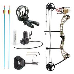 compound bow 30 55lbs archery hunting set