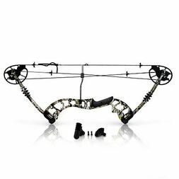 SereneLife Compound Bow, Adjustable Draw Weight 30-70 lbs wi