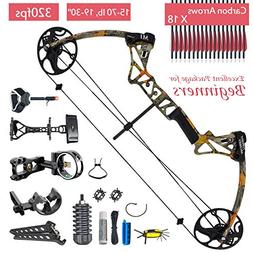 XQMART Compound Bow Package,for Adults,Right Handed,Archery