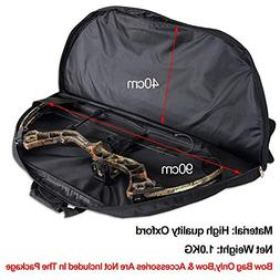 XQMART Compound Bow Case, Archery Accessories Fits for Compo