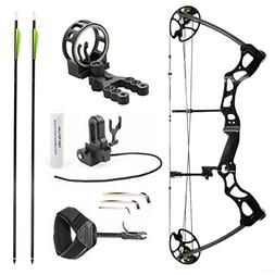 Leader Accessories Compound Bow Hunting Bow 50-70lbs with Ma