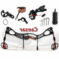 Compound Bow Hunting with 40-70 Pound Archery Set for Outdoo