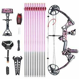 XGeek Womens Compound Bow Packages,Right Handed for Adults,w