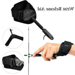 Compound Bow Release Aid with Trigger Wrist Strap for Adult