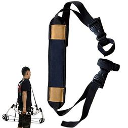 Compound Bow Sling Strap Belt With Nice Holder Wrapper Holst