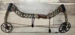 Mathews Creed XS Compound Bow, hunting, lost camo, right han