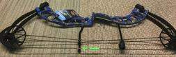 d3 bowfishing compound bow blue in color