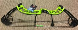 d3 bowfishing compound bow with fingers lime