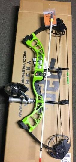 PSE D3  GREEN  Bowfishing Compound Bow,REST FISHING REEL ARR