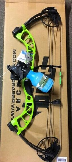 PSE D3 GREEN  Bowfishing Compound Bow,REST REEL FINGERS