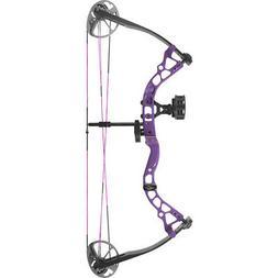 Diamond Atomic Left Hand Purple Youth Compound Bow kit 6-29#