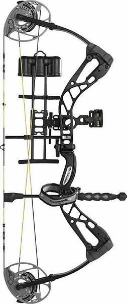 Diamond Edge 320 Compound Bow Package Black Right Hand 7-70