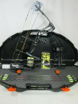 Diamond Edge 320 Right Hand Compound Bow Package Black 7-70#