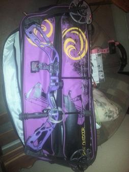 Diamond edge sb-1 compound bow purple blaze R.A.K package &