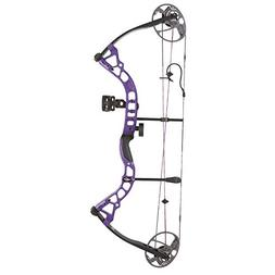 Bowtech Archery Diamond Prism LH 5-55# Purple Compound Bow -