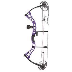 Bowtech Archery Diamond Prism LH 5-55# Purple Compound Bow -
