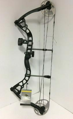 Bowtech Archery Diamond Prism RH 5-55# Black Compound Bow -