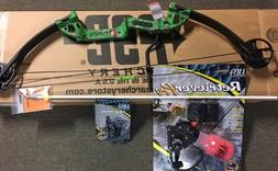 PSE Discovery Bowfishing 30-40# RH GREEN with Fingertings,Re