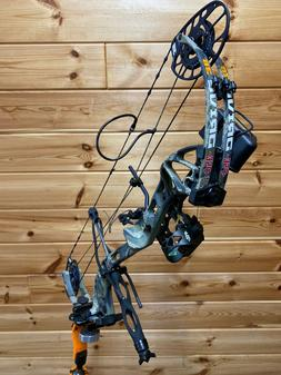 PSE Drive 3B 70lb Compound Bow RH Kuiu Verde Camo Compound B