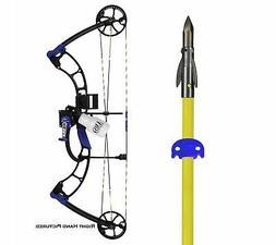 AMS Bowfishing E-RAD Bow with Bowfishing Kit, Left Hand B505