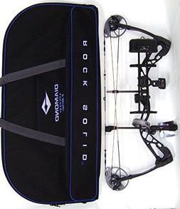 Diamond Edge SB-1 Compound Bow, Black, RAK Package, Left Han