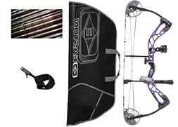 Diamond Edge SB-1, Purple Blaze, Left Hand, 7-70lbs, Ready t