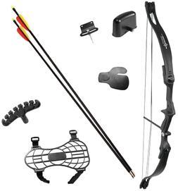 Crosman Elkhorn Jr. Compound Bow Complete Kit, Ready to Shoo