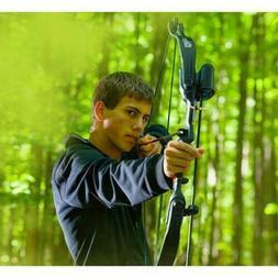 "CROSMAN Elkhorn Pre-teen compound bow w/2- 26"" arrows adjust"
