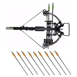 SA Sports Empire Hellhound Crossbow  Hunter's Package with 4