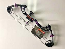 PSE FEVER PURPLE RAIN 4-29LB. CUSTOM YOUTH/LADIES RTS PACKAG