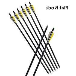 "e5e10 8Pcs 20"" Fiberglass Arrows Archery Hunting OD 8mm Cros"