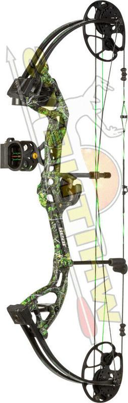 Fred Bear Archery Cruzer LITE Compound Bow Moonshine Toxic L