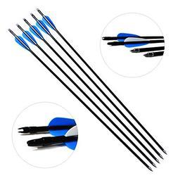Hunting Archery Fiberglass Arrows Letszhu Target Practice Ar