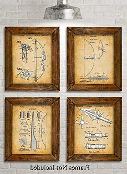 hunting bow patent prints