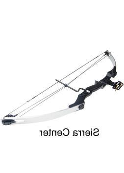 iGlow 55 Compound Bows lb Silver Archery Hunting Compound Bo
