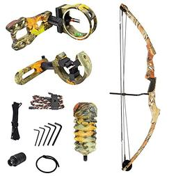iGlow 40-70 lbs Autumn Camouflage Camo Archery Hunting Compo