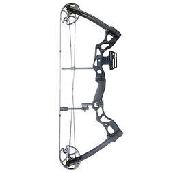 iGlow 40-70 lbs Black Archery Hunting Compound Bow with Prem