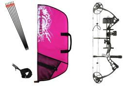 Diamond Infinite Edge Pro LH BLACK & PINK Womens Compound Bo