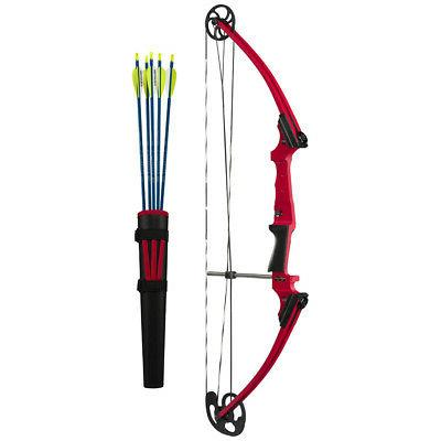 Genesis 10930 Original RH Compound Bow Kit Red