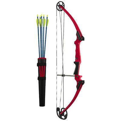 Genesis 10930 Original RH Compound Bow Kit Red