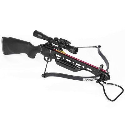 150 lb black hunting crossbow bow 4x20