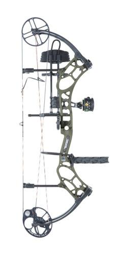 New 2016 Bear Archery Marshal RTH 70# RH Bow Package Sand