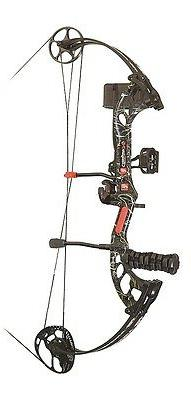 New 2016 PSE Stinger X RTS 70# RH Compound Bow Package Skull