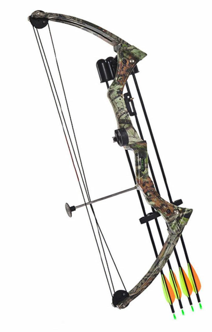 20lbs Traditional Bow Hunting Black/Camo