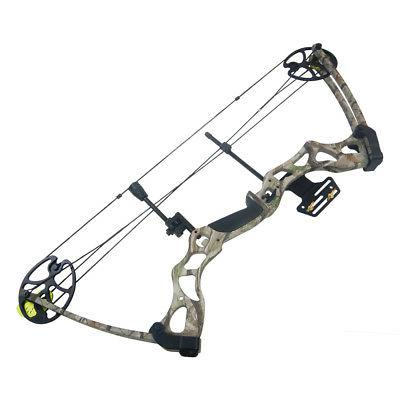 40-70 / Green Camo Hunting Compound Bow
