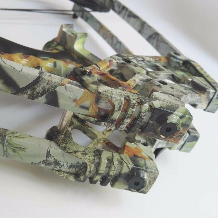 40lbs Archery Triangle Bow Right Hunting Shoot Target Camo