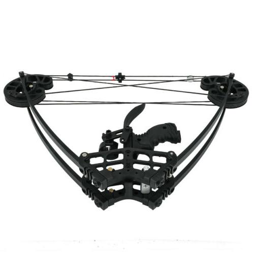 Archery Catapult Triangle Bow Dual-use Compound Bow Steel Ba